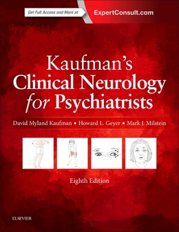 Book Kaufman's Clinical Neurology For Psychiatrists by David Myland Kaufman