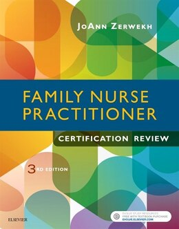 Book Family Nurse Practitioner Certification Review by Joann Zerwekh