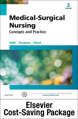 Book Medical-surgical Nursing - Text And Elsevier Adaptive Quizzing Package: Concepts And Practice by Susan C. Dewit