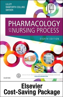 Book Pharmacology And The Nursing Process - Text And Elsevier Adaptive Quizzing Package by Linda Lane Lilley