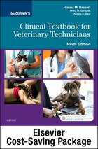 Mccurnin's Clinical Textbook For Veterinary Technicians - Textbook And Workbook Package