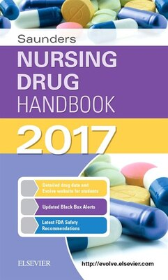 Book Saunders Nursing Drug Handbook 2017 by Robert J. Kizior