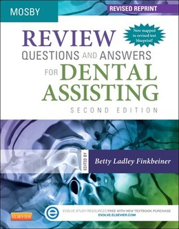 Book Review Questions And Answers For Dental Assisting - Revised Reprint by Mosby