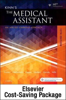 Book Kinn's The Medical Assistant - Text, Study Guide And Checklist, And Simchart For The Medical Office… by Deborah B. Proctor