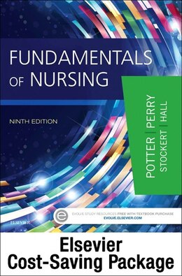 Book Fundamentals Of Nursing - Text And Elsevier Adaptive Quizzing-nursing Concepts Package by Patricia A. Potter