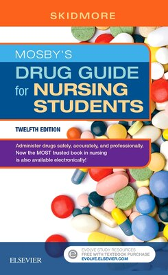Book Mosby's Drug Guide For Nursing Students by Linda Skidmore-roth