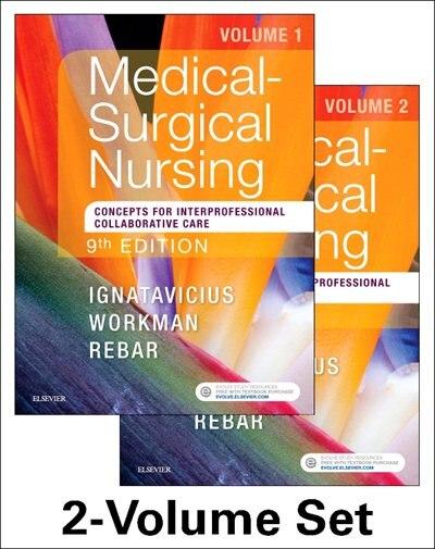 Medical-surgical Nursing: Concepts For Interprofessional Collaborative Care, 2-volume Set by Donna D. Ignatavicius