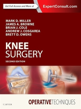 Book Operative Techniques: Knee Surgery by Mark D. Miller