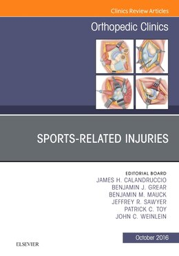 Book Sports-related Injuries, An Issue Of Orthopedic Clinics by James H. Calandruccio