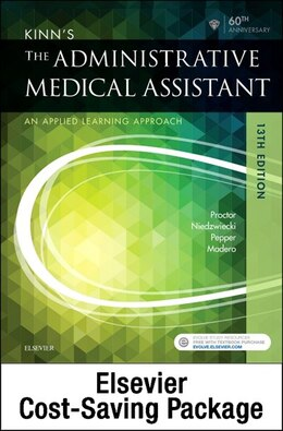 Book Kinn's The Administrative Medical Assistant - Text And Study Guide Package: An Applied Learning… by Deborah B. Proctor