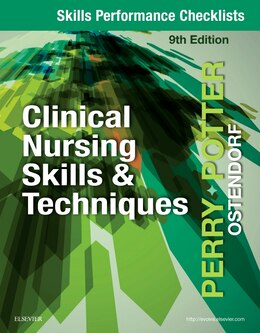 Book Skills Performance Checklists For Clinical Nursing Skills & Techniques by Anne Griffin Perry