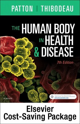 Book The Human Body In Health And Disease - Text And Elsevier Adaptive Learning Package by Kevin T. Patton