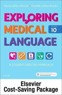 Book Exploring Medical Language - Text And Elsevier Adaptive Learning Package by Myrna Lafleur Brooks