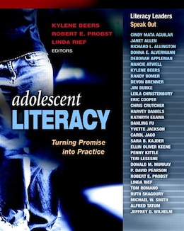 Book Adolescent Literacy: Turning Promise Into Practice by Kylene Beers