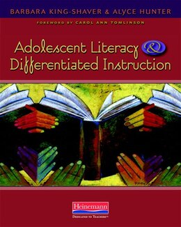 Book Adolescent Literacy And Differentiated Instruction by Barbara King-shaver