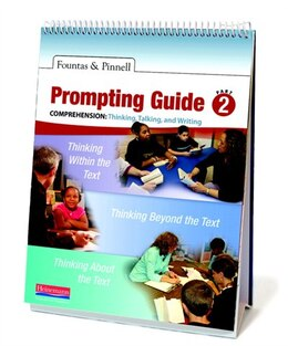 Book Fountas & Pinnell Prompting Guide Part 2 For Comprehension by Fountas, Irene C.