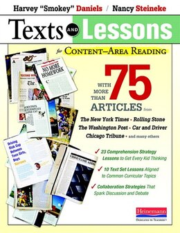 Book Texts And Lessons For Content-area Reading by Harvey Daniels