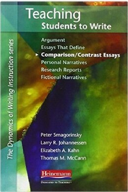 Book Teaching Students To Write Comparison/contrast Essays by Peter Smagorinsky