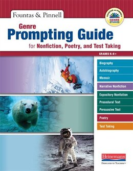 Book Genre Prompting Guide For Nonfiction, Poetry, And Test Taking by Fountas, Irene C.