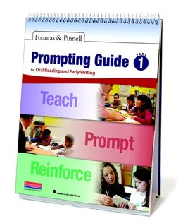 Book Fountas & Pinnell Prompting Guide Part 1 For Oral Reading And Early Writing by Fountas, Irene C.