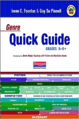 Book Genre Quick Guide by Fountas, Irene C.