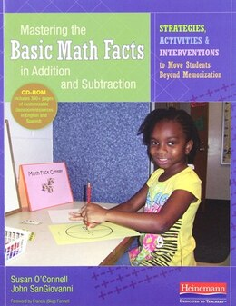 Book Mastering The Basic Math Facts In Addition And Subtraction by Susan O'connell