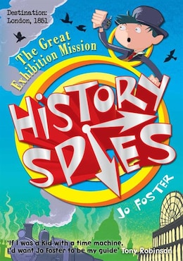 Book History Spies The Great Exhibition Mission by Jo Foster