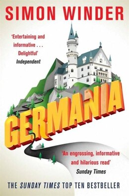 Book Germania: A Personal History of Germans Ancient and Modern by Simon Winder