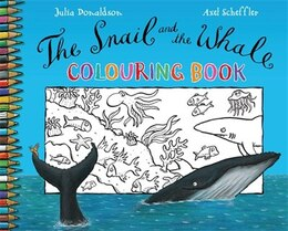 Book The Snail and the Whale Colouring Book by Julia Donaldson