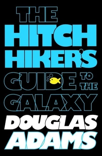 Image result for hitchhiker's guide to the galaxy