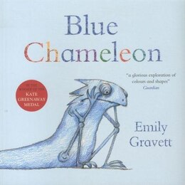 Book Blue Chameleon by Emily Gravett