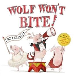 Book Wolf Won't Bite! by Emily Gravett