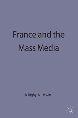 Book FRANCE AND THE MASS MEDIA