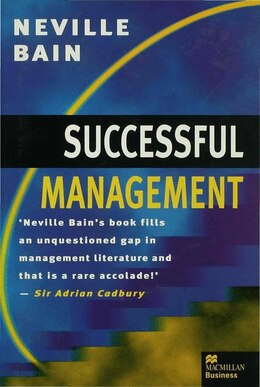Book Successful Management by N. Bain