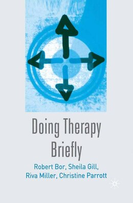 Book Doing Therapy Briefly by Robert Bor