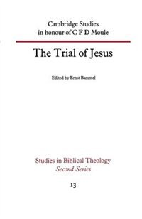 Book The Trial Of Jesus by Ernst Bammel