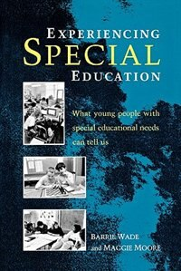 Book Experiencing Special Education by Barrie Wade