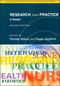 Book Research Into Practice 2/E: A Reader by Pamela Abbott