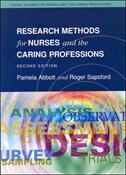 Book Research Methods For Nurses And The Caring Professions 2/E by Pamela Abbott