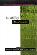 Book Disability Discourse by Mairian Corker