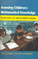 Book Assessing Children's Mathematical Knowledge by Barry Cooper