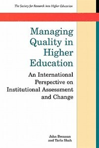 Book Managing Quality In Higher Education by J. L. Brennan