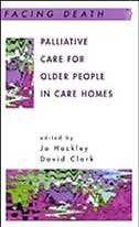 Book Palliative Care For Older People in Care Homes by Jo Hockley