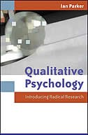 Book Qualitative Psychology: Introducing Radical Research by Ian Parker