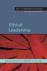 Book Ethical Leadership by Manuel Mendonca