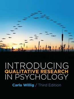 Book Introducing Qualitative Research in Psychology by Carla Willig