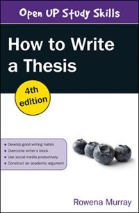 Book How to Write a Thesis by Rowena Murray