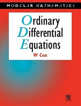 Book Ordinary Differential Equations by William Cox