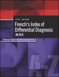 Book French's Index Of Differential Diagnosis D: An A-Z by Harold Ellis