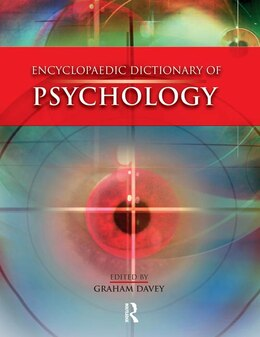 Book Encyclopaedic Dictionary Of Psychology by Graham Davey